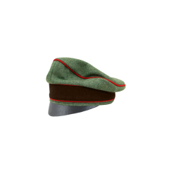 WWII German Fire Protection Police Officer Wool Crusher Cap Small Visor