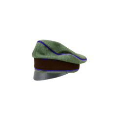 WWII German Geheime Feldpolice Officer Wool Crusher Cap Small Visor
