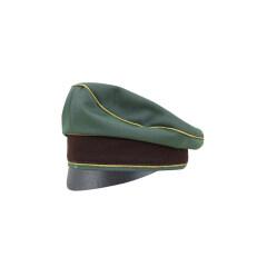 WWII German Police General Gabardine Crusher Cap Small Visor
