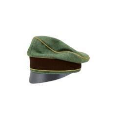 WWII German Police General Wool Crusher Cap Small Visor