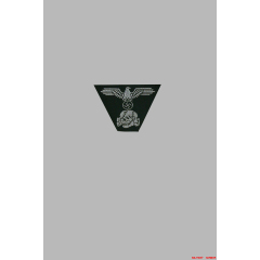 WWII German Bevo field cap Insignia SS Panzer NCO-officer