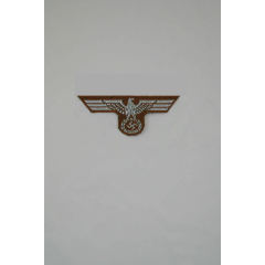 WWII German Bevo Cap Eagle - DAK Officer