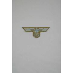 WWII German Bevo Cap Eagle - DAK EM