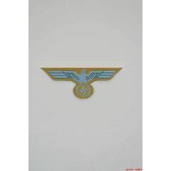 WWII German Bevo Breast Eagle DAK EM