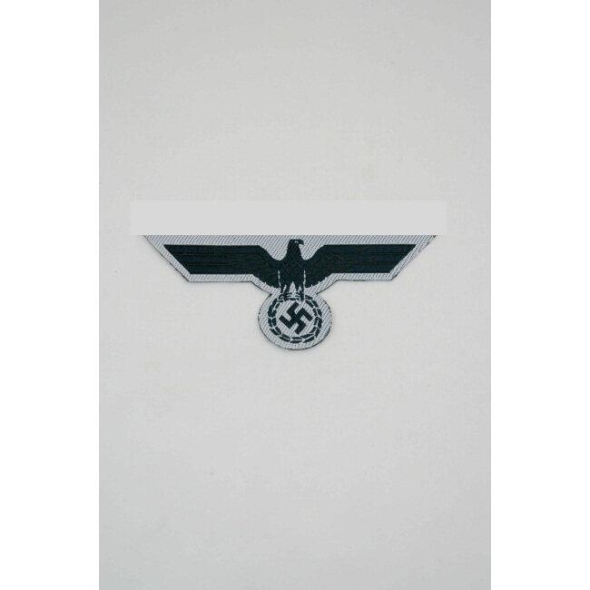 WWII German Bevo Breast Eagle Navy White Dress