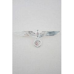 WWII German Metal Kriegsmarine breast eagle - Officer