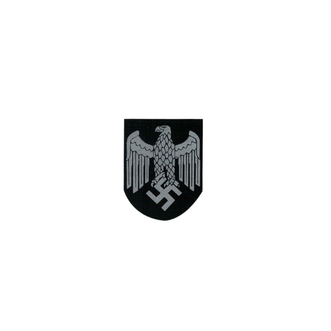 WWII German Heer eagle helmet decal