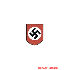WWII German Party Shield (Swastika) helmet Decal