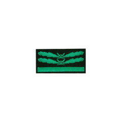WWII German SS Sturmbannführer (Major) Camo Sleeve Rank