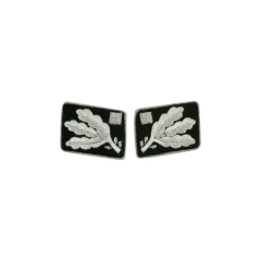 WWII German SS Obergruppenführer (Lt. General) before 1942 Collar Tabs