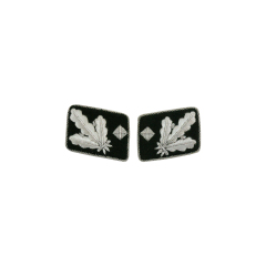 WWII German SS Gruppenführer (Major General) Collar Tabs