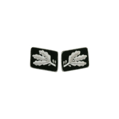WWII German SS Gruppenführer (Major General) before 1942 Collar Tabs