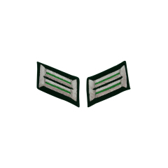 WWII German Heer mountaineer (Gebirgsjäger) Officer Collar Tabs