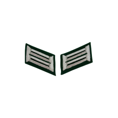 WWII German Heer Pioneer (combat engineers) Officer Collar Tabs