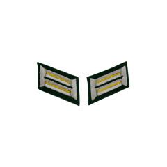 WWII German Heer signal Officer Collar Tabs