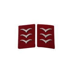 WWII German Luftwaffe Flak and Artillery Obergefreiter Collar Tabs