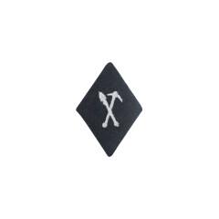WWII German SS EM NCO Allgemeine Pioneer Personnel sleeve diamond insignia