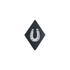 WWII German SS EM NCO Farriers sleeve diamond insignia