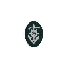 WWII German heer boat pilot's sleeve insignia early model
