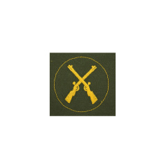 WWII German heer Tropical DAK weapon maintenance sergeant sleeve trade insignia