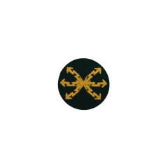 WWII German heer signal sergeant early model sleeve trade insignia