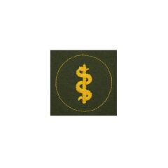 WWII German heer Tropical DAK medical personnel sleeve trade insignia
