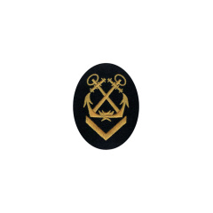 WWII German Kriegsmarine NCO senior helmsman career sleeve insignia