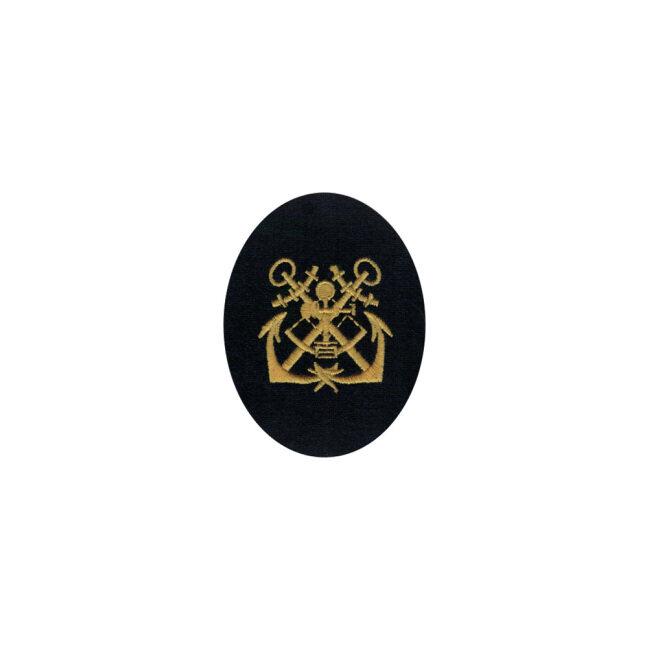 WWII German Kriegsmarine NCO navigating helmsman career sleeve insignia