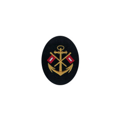 WWII German Kriegsmarine NCO signal career sleeve insignia