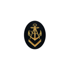 WWII German Kriegsmarine NCO senior carpenter career sleeve insignia