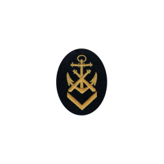 WWII German Kriegsmarine NCO senior ordnance career sleeve insignia