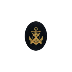 WWII German Kriegsmarine NCO artillery mechanics career sleeve insignia
