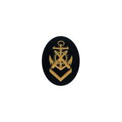 WWII German Kriegsmarine NCO senior artillery mechanics career sleeve insignia