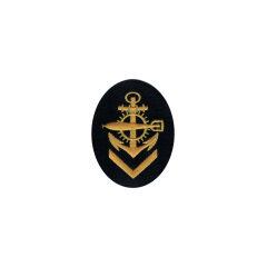 WWII German Kriegsmarine NCO senior torpedo mechanics career sleeve insignia