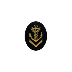 WWII German Kriegsmarine NCO senior administrative career sleeve insignia