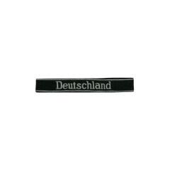 WWII German SS-VT Pz.Gren.Rgt.3 Deutschland in latin script EM/NCO cuff title