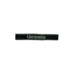 WWII German SS-VT Pz.Gren.Rgt. 9 Germania in latin script EM/NCO cuff title