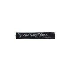 WWII German Heer Grossdeutschland in copperplate script EM NCO cuff title