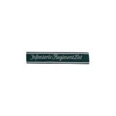 WWII German Heer Infanterie Regiment List cuff title