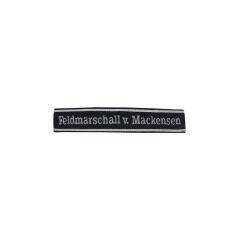 WWII German Heer Feldmarschall von Mackensen cuff title