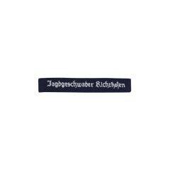 WWII German Luftwaffe Jagdgeschwader Richthofen EM cuff title