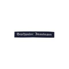 WWII German Luftwaffe Geschwader Immelmann EM cuff title