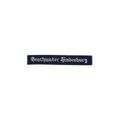 WWII German Luftwaffe Geschwader Hindenburg EM cuff title
