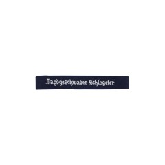 WWII German Luftwaffe Jagdgeschwader Schlageter EM cuff title