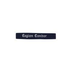 WWII German Luftwaffe Legion Condor EM cuff title