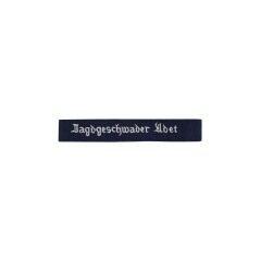 WWII German Luftwaffe Jagdgeschwader Udet EM cuff title