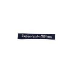 WWII German Luftwaffe jagdgeschwader Mölders EM cuff title