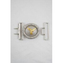 WWII German Luftwaffe officer dress brocade Buckle