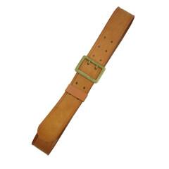 WWII German German General brown leather belt