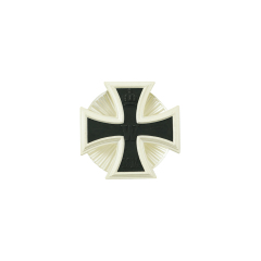 WWII German Iron Cross 1st Class 1914 with screw back